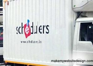 Website Design for cold storage transport company